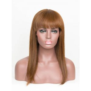 20inch straight 4*4 slik top Full lace wig